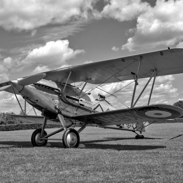 """Hawker Demon"" stock image"