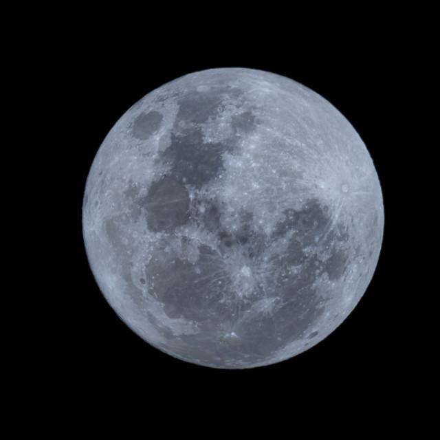"""Super Moon"" stock image"