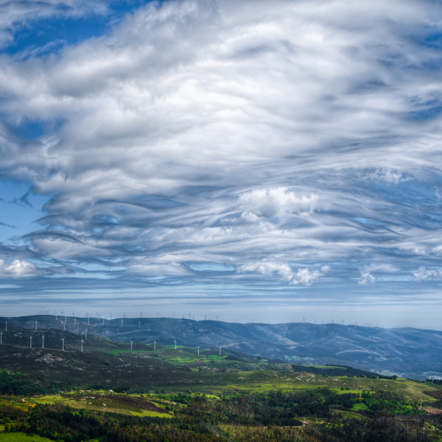 """Amazing cloudy sky"" stock image"