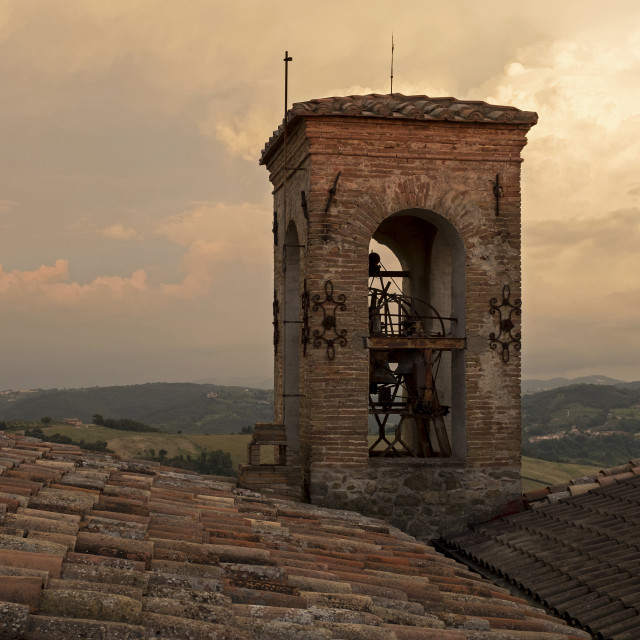 """""""The Bell Tower"""" stock image"""