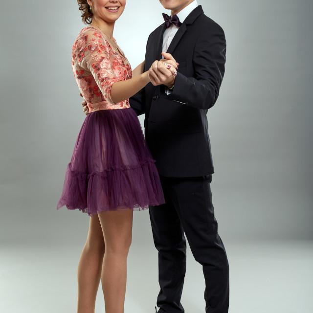 """Beautiful young couple"" stock image"