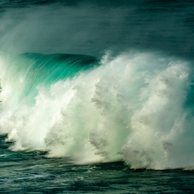"""Big Wave 2."" stock image"