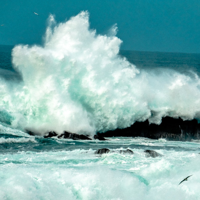 """Big Wave 7"" stock image"