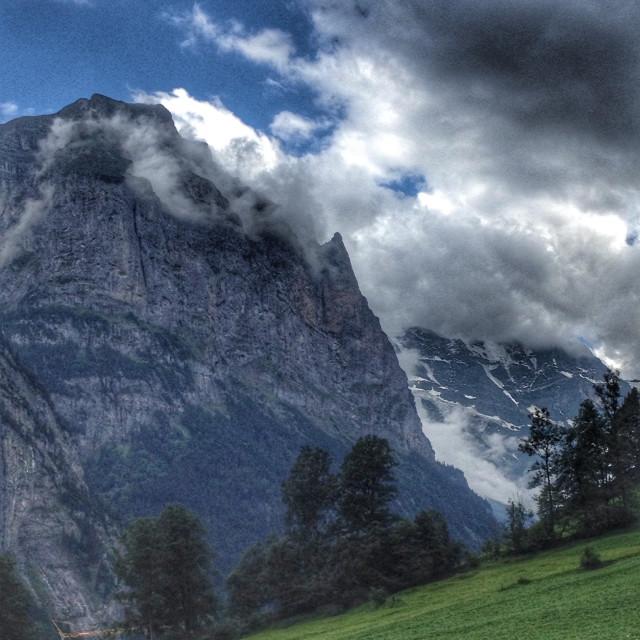 """Lauterbrunnen valley"" stock image"