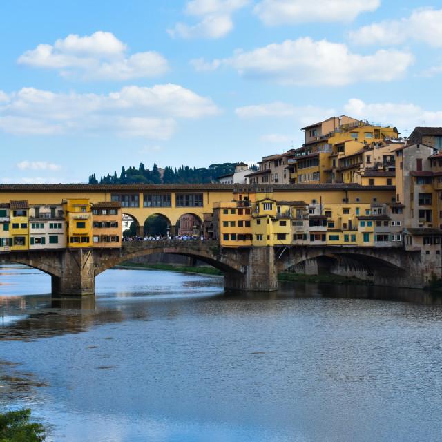 """Florence's Ponte Vechio"" stock image"