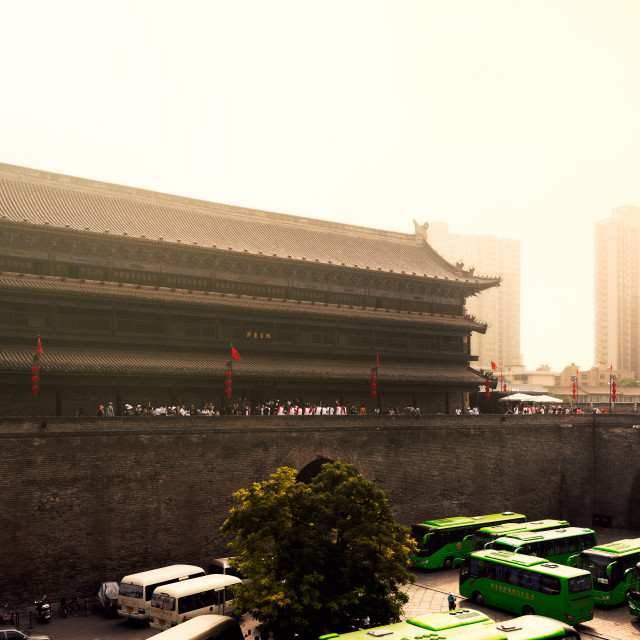 """Xian Mist"" stock image"
