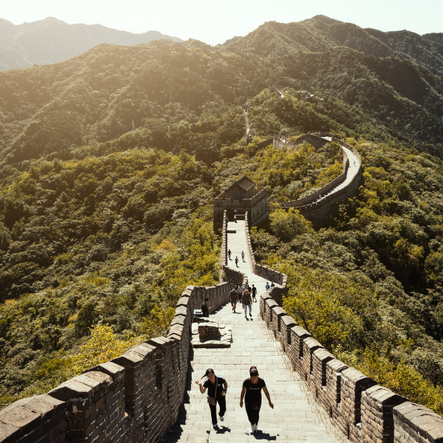 """""""The Great Wall"""" stock image"""