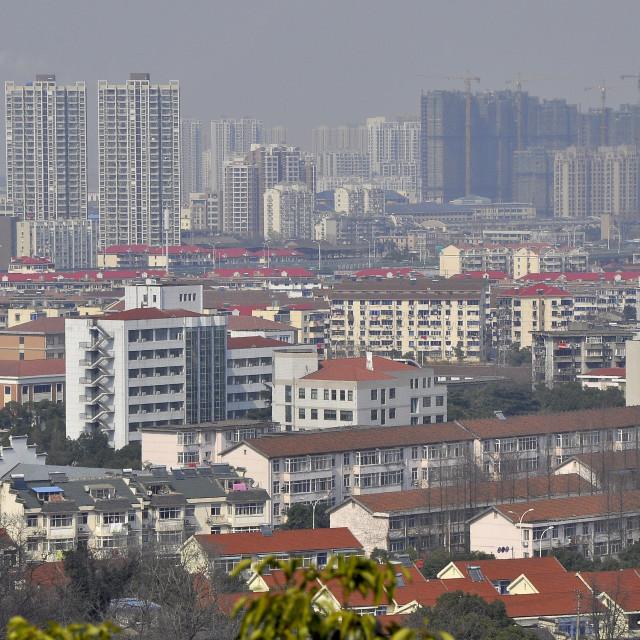 """Wuxi view China"" stock image"
