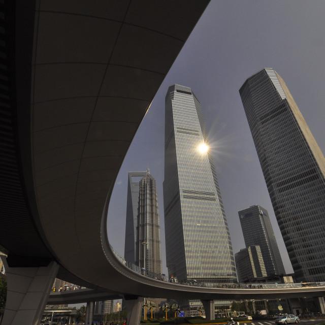 """Flyover 2 Shanghai China"" stock image"