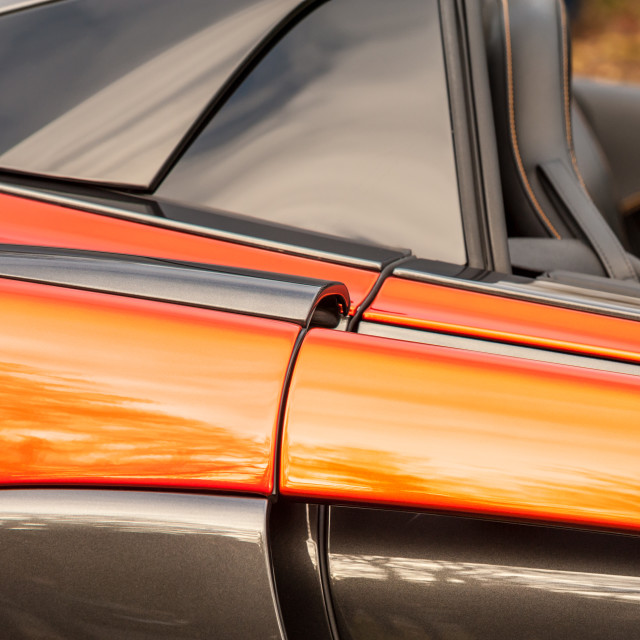"""luxury sports car bodywork panel"" stock image"