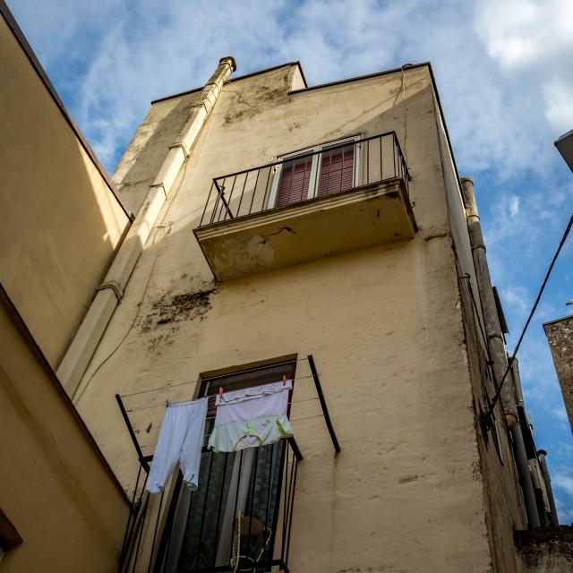 """Italy, city life street view"" stock image"