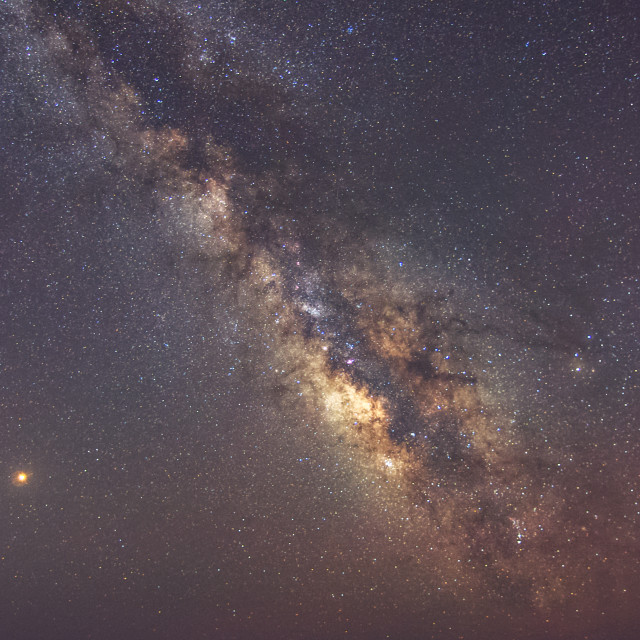 """The Milky Way"" stock image"