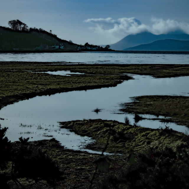 """Applecross Bay"" stock image"