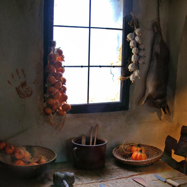 """poachers kitchen"" stock image"