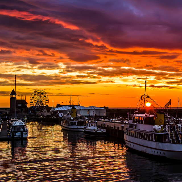 """""""Harbour Side"""" stock image"""