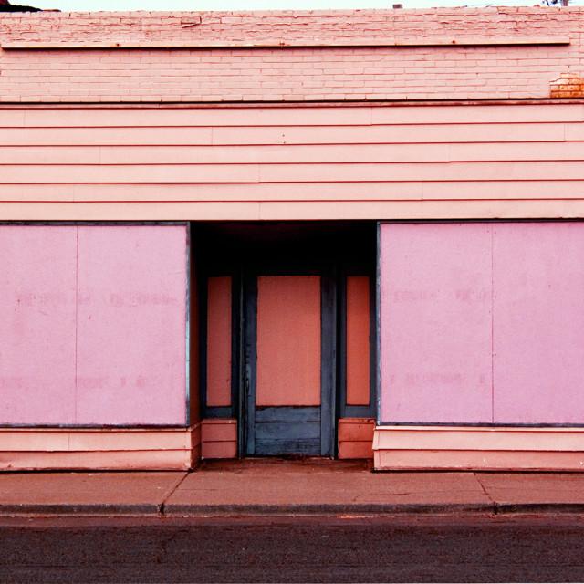 """""""Abandoned Storefront"""" stock image"""