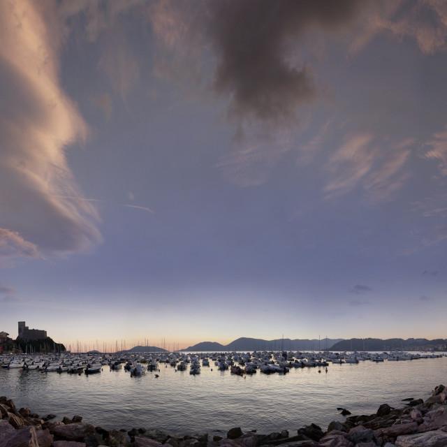 """""""tramonto sul mare"""" stock image"""
