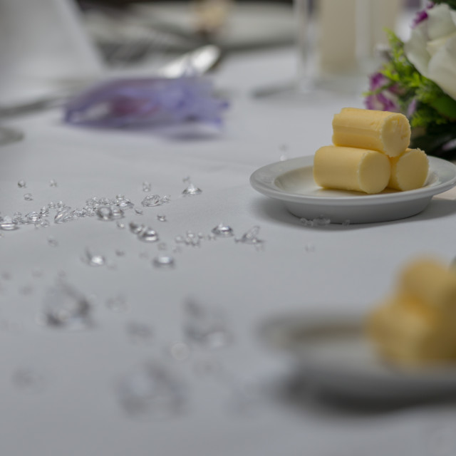 """wedding Reception Table"" stock image"
