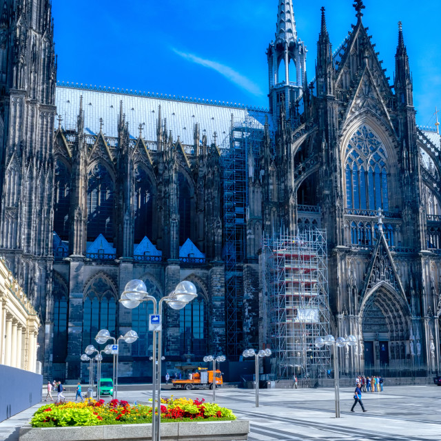 """""""Cologne Cathedral, Germany"""" stock image"""