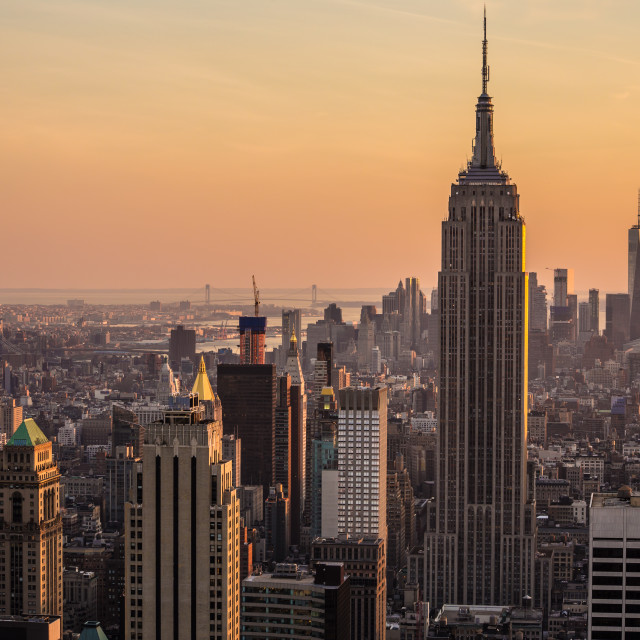 """""""Empire State Building."""" stock image"""