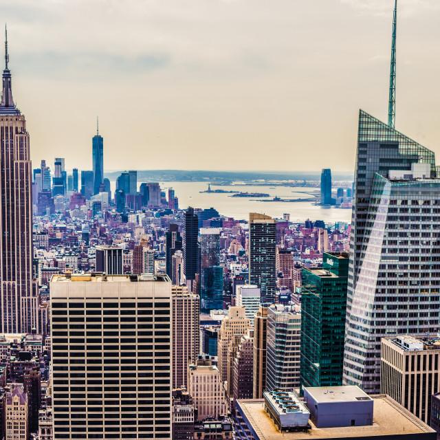 """NYC panorama"" stock image"