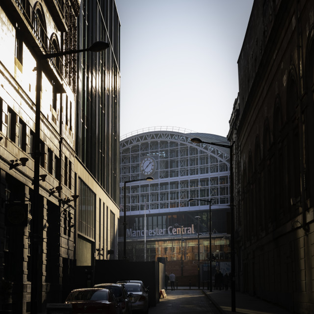 """""""Manchester Central Convention Complex"""" stock image"""