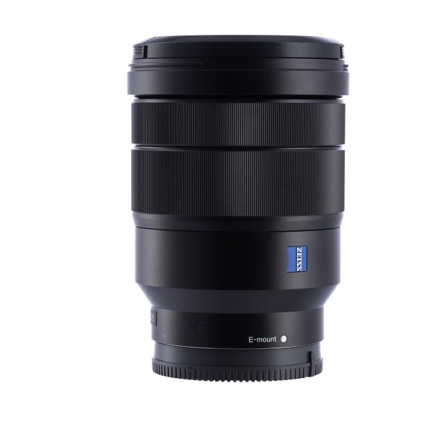 """Varna, Bulgaria - February 07,2019: Image of Sony FE 16-35mm f/"" stock image"