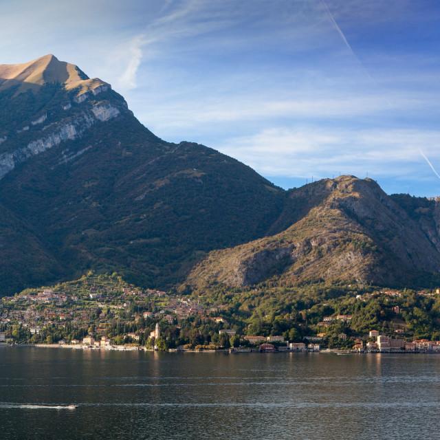 """""""lago di Como Tremezzina"""" stock image"""