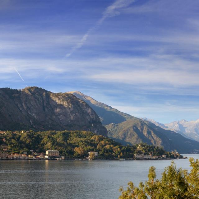 """""""lago di Como"""" stock image"""