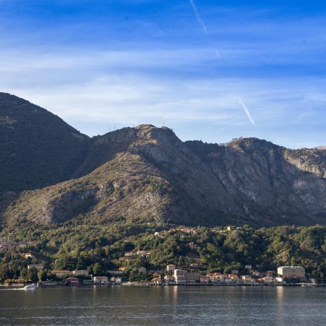 """""""Tremezzo sul lago di Como"""" stock image"""