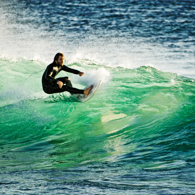 """""""Surf in San Diego"""" stock image"""