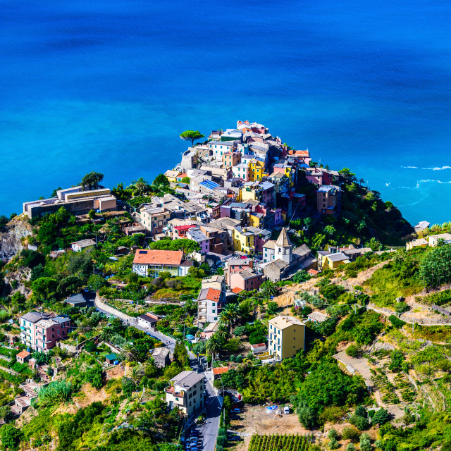 """Corniglia, Cinque Terre, Italy, Liguria, Europe"" stock image"