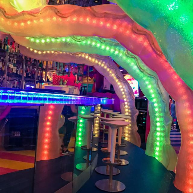 """Colourful Bar"" stock image"