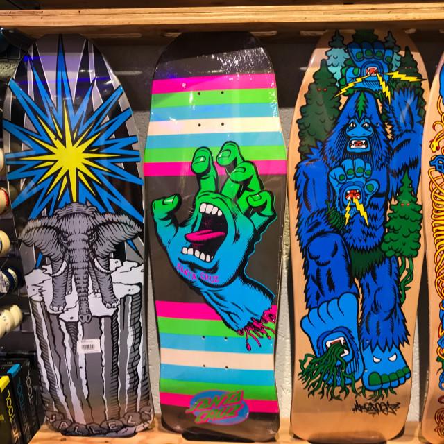 """""""Tokyo Skateboards"""" stock image"""