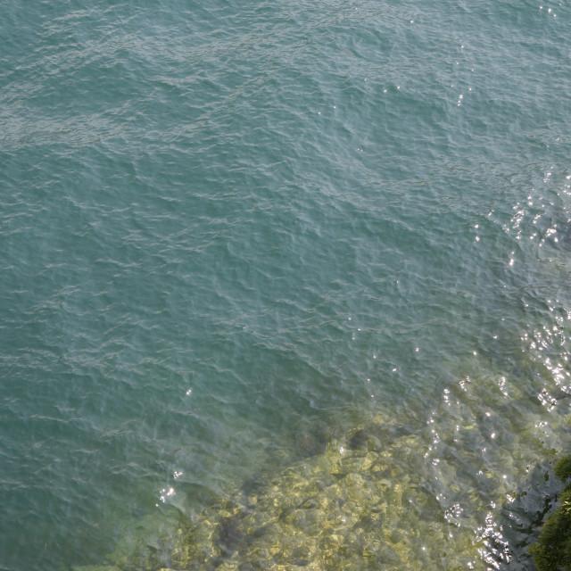 """""""riva del lago"""" stock image"""