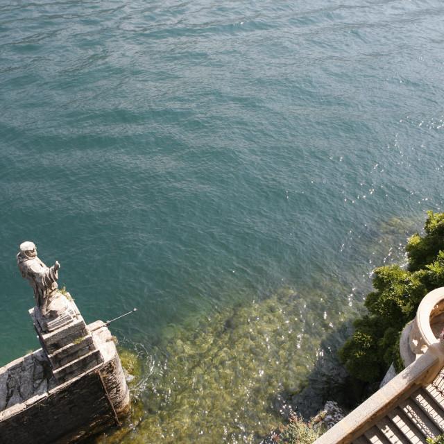 """""""sulla riva del lago"""" stock image"""
