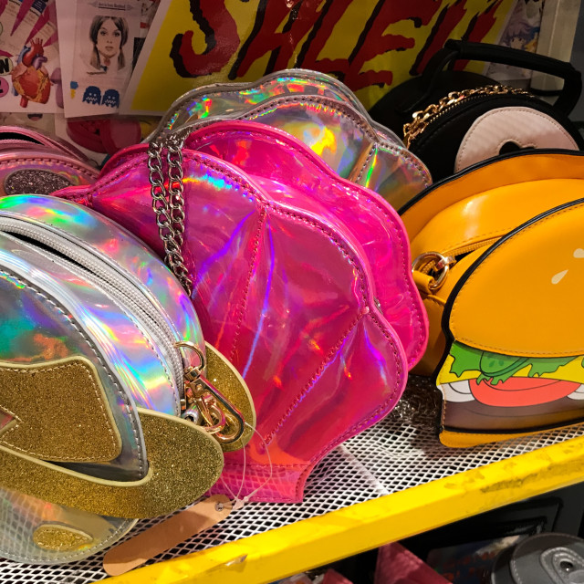 """Quirky Handbags"" stock image"