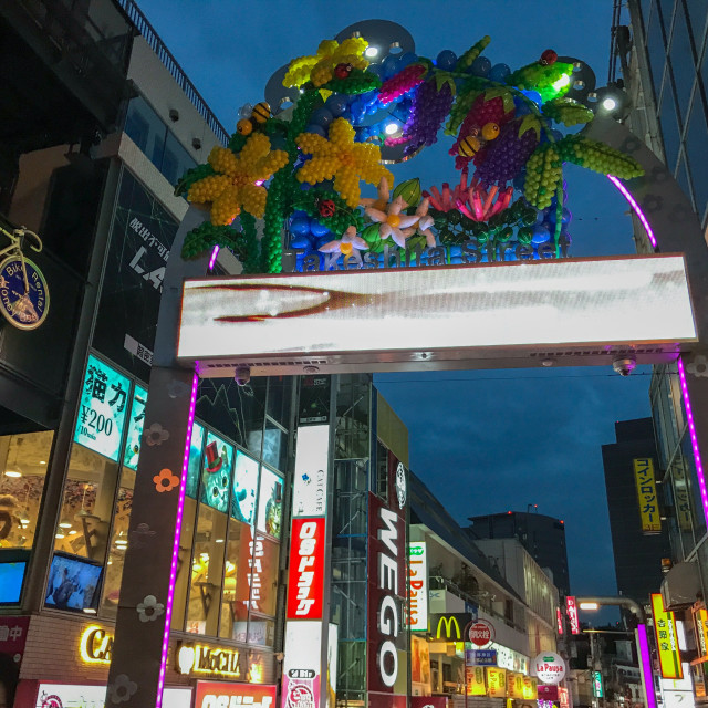 """""""Takeshita Street"""" stock image"""