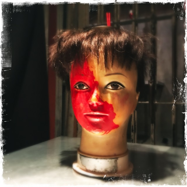 """""""Severed Head Cocktail"""" stock image"""
