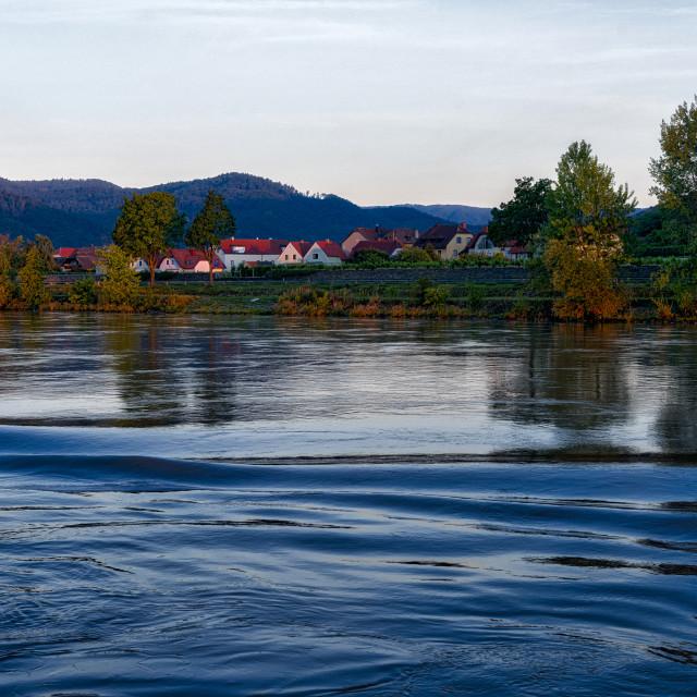 """""""Durnstein, Austria"""" stock image"""