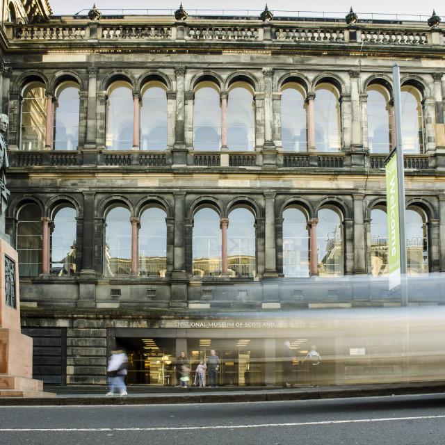 """Museum of Scotland"" stock image"