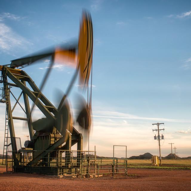 """Oil Derrick 2"" stock image"