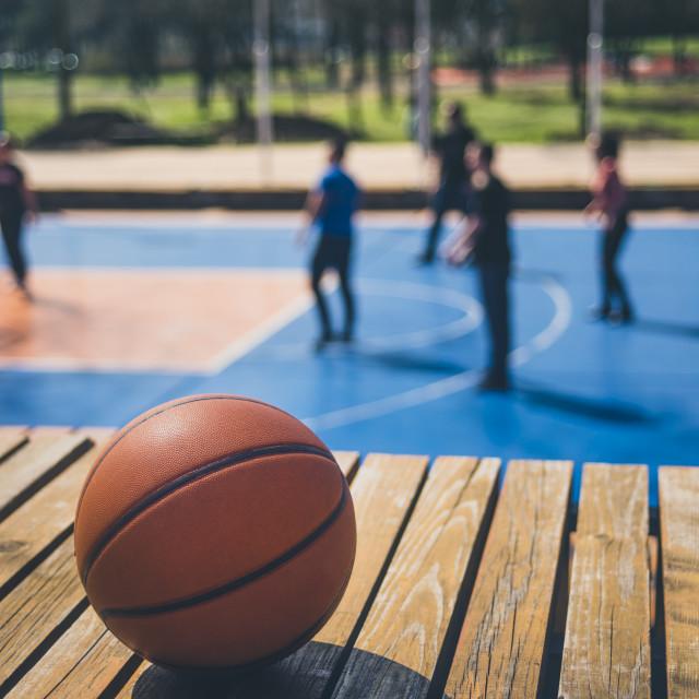 """""""Basketball"""" stock image"""