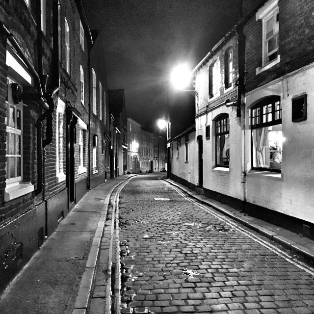 """King Street, Chester."" stock image"