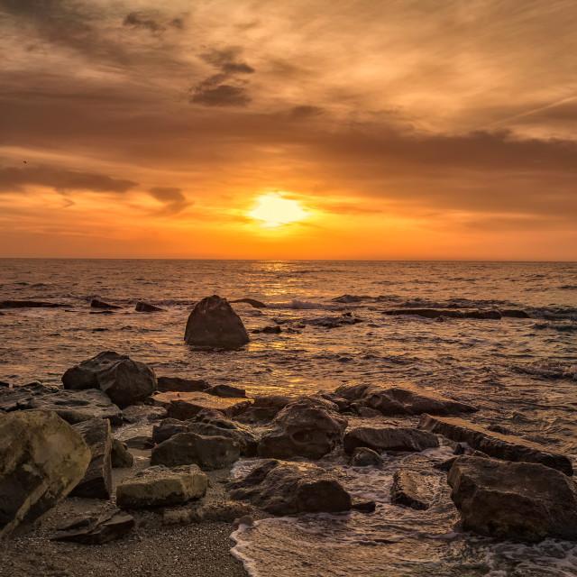 """""""Colorful sunrise"""" stock image"""
