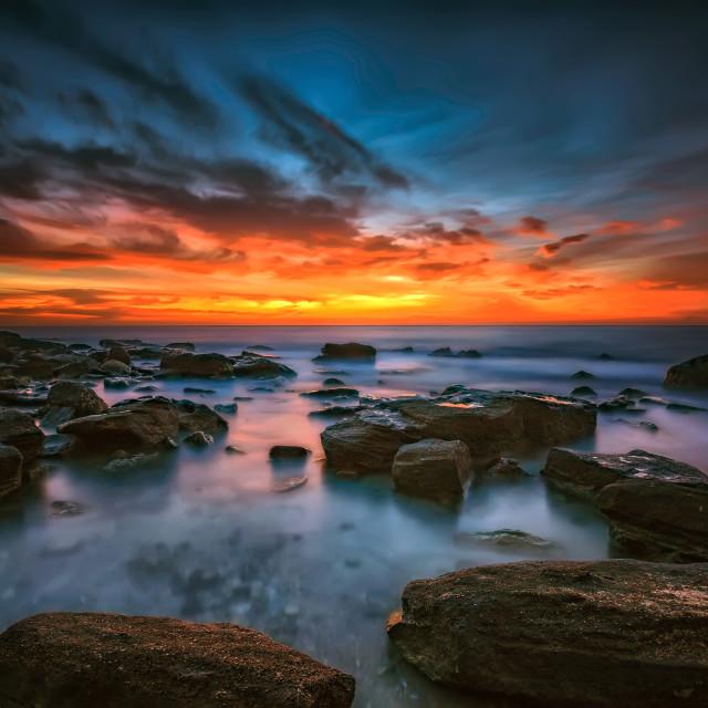 """Magnificent sunrise"" stock image"