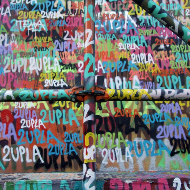 """""""Portuguese Graffiti"""" stock image"""