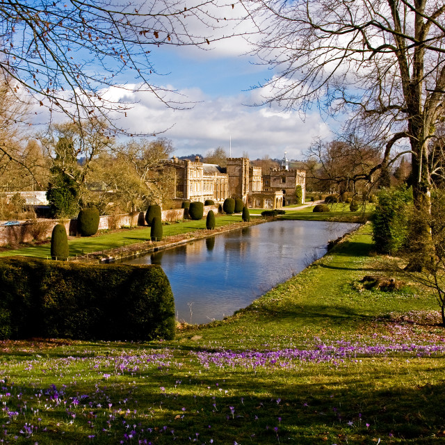 """""""Forde Abbey"""" stock image"""