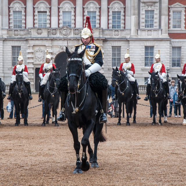 """Changing the Guards"" stock image"