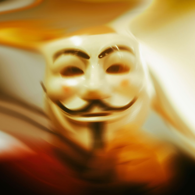 """Masque of Anarchy"" stock image"